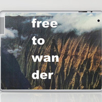 Free To Wander Laptop & iPad Skin by Romi Vega | Society6