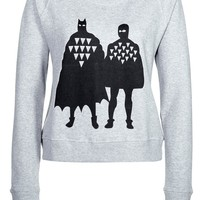 A QUESTION OF BAD BOYS - Sweatshirt - grey - Zalando.co.uk