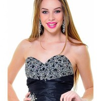 Sweetheart Beading A-line High Low Prom Dress [238851] - £85.79 : Manticope, Dresses UK Store