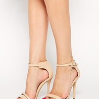 ASOS HOSTESS Wide Fit Heeled Sandals