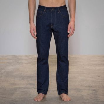 Mens Jeans Made in USA - Relaxed American Dark | Todd Shelton