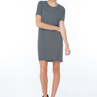 Easy Does It Striped Shift Dress