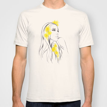 Yellow T-shirt by EDrawings38
