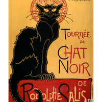 Tournée du Chat Noir, c.1896 Art Print by Théophile Alexandre Steinlen at Art.com