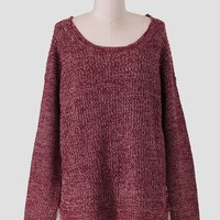 Western Hills Oversized Sweater