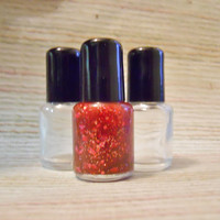 Pick Any - Glitter Nail Polish in Mini Size Bottle By BuroughBabeMade