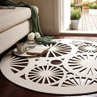 stella felt rug by michelle mason | notonthehighstreet.com