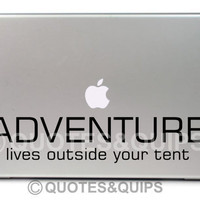 VINYL- Adventure lives outside your tent