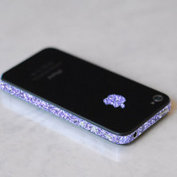iPhone 4S Antenna Wrap (Sparkling Amethyst)