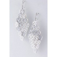 Danne Flower Cluster Drop Earrings