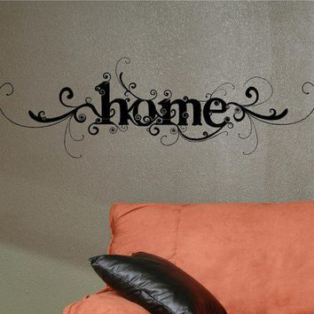 25x8  Home Decorative Fancy Vinyl Decor Wall Lettering Words Quotes Decals Art Custom Willow Creek Signs