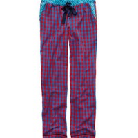 Aerie Women's Flannel Pajama Pant (Holiday Red)