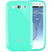 Amazon.com: Mercury Slim Fit Hard Case for Samsung Galaxy S3 GT-i9300 (Fits Verizon, AT&T, T-Mobile, Sprint) - Turquoise / Mint: Cell Phones & Accessories