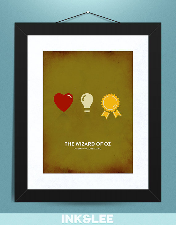 Movie Poster- The Wizard of Oz Print