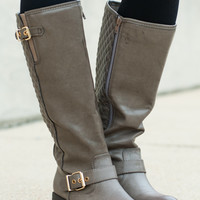 The Margo Boot, Taupe