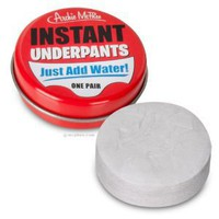 Amazon.com: Instant Underpants - Just Add Water! Hilarious!: Toys & Games