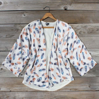 Feathertide Jacket, Sweet Bohemian Clothing