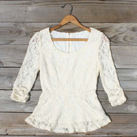 Lexi Lace Blouse, Sweet Bohemian Clothing