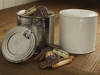 porcelain biscuit barrel by the original home store | notonthehighstreet.com