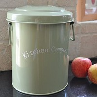 kitchen compost bin by rustic angels | notonthehighstreet.com
