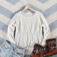 Iced Lace Sweater