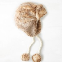 AEO Faux Fur Trapper Hat, Natural | American Eagle Outfitters