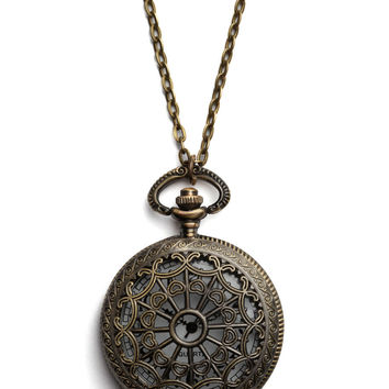 Turn Back Time Necklace in El Prado | Mod Retro Vintage Necklaces | ModCloth.com