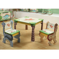 ideeli | TEAMSON Dinosaur Kingdom Table and Chairs Set