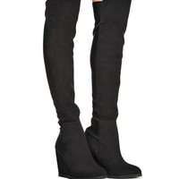 Nadja Thigh High Suede Boots