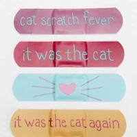 Cat Lady Bandages- Pink One