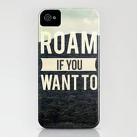 Roam iPhone Case by Galaxy Eyes | Society6