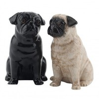 Pug Salt and Pepper set from MAIDEN | Made By  | £20.00 | Bouf