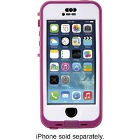 LifeProof - nüüd Case for Apple® iPhone® 5 and 5s - Blaze Pink/Clear