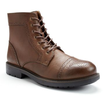 sonoma style brown s brogue from kohl s
