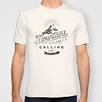 Mountains T-shirt by Seaside Spirit