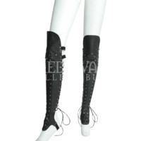 Gothic Shin Guard Leggings - RL-1029 by Medieval Collectibles