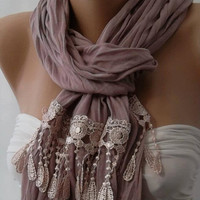 Scarf   - Elegant  Scarf Shawl
