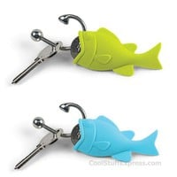 Hooked Keyring & Change Holder By Fred & Friends