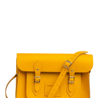 Upwardly Mobile Satchel in Yellow - 14"
