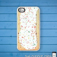 iPhone Case Toaster Pastry iPhone Hard Case / Fits Iphone 4, 4S Breakfast Treat