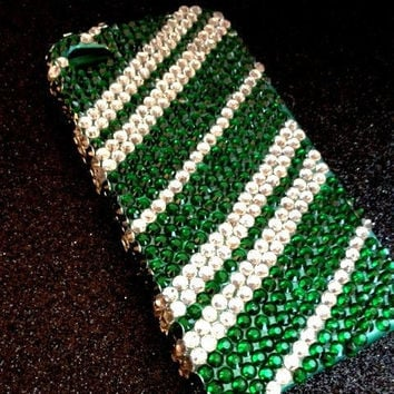 Harry Potter Rhinestone Slytherin iPhone Case