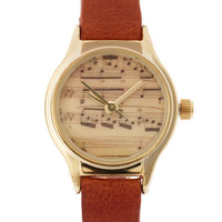ASOS Musical Notes Watch at asos.com