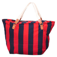 Stripe Canvas Large Carry All Bag | Shop American Apparel