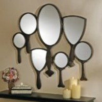 Wall Decor | Reflective Gaze Hand Mirror