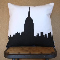 Urban Throw Pillow Style no7 NYC Pillow Cover and by NestaHome