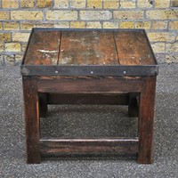Elemental antique vintage retro furniture lighting seating : antique : Salvaged Printer Tables
