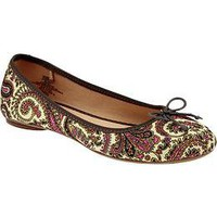 Women's Printed Ballet Flats | Old Navy
