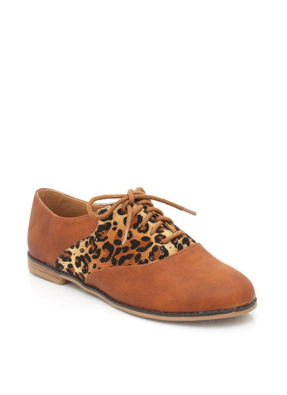 oxford-flats COGNAC - GoJane.com