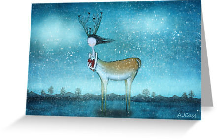 Deer to my heart by Amanda  Cass