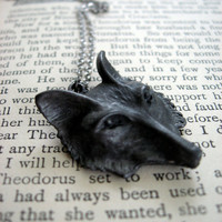 Sly Mr Fox Necklace by sodalex on Etsy
